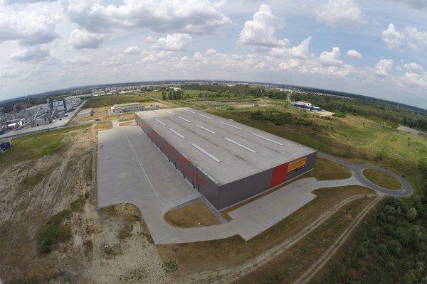 Park sa teší prílivu nových nájomcov. Pribudne IKEA Components, spoločnosť FROMM Packaging i nové distribučné centrum Volkswagen. Na snímke hala C.
