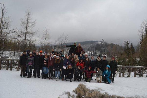 Viac ako štyri desiatky mladých sa zišli vo Vysokých Tatrách.