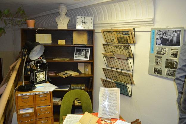 Výstava Knižnica v čase.