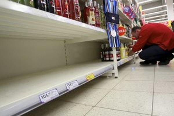 V Česku tvrdý alkohol stiahli z predajní.