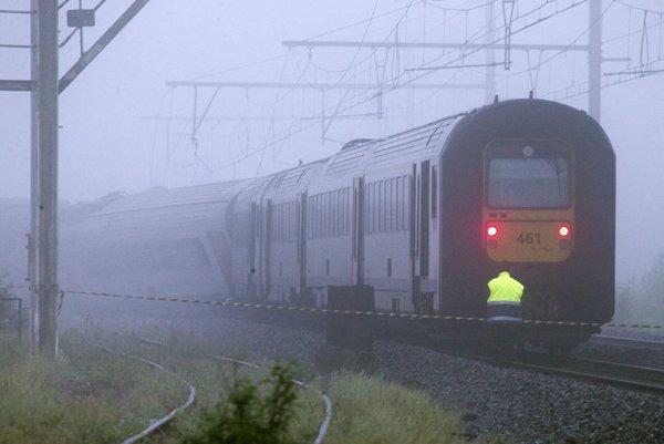 Vlaky momentálne meškajú.