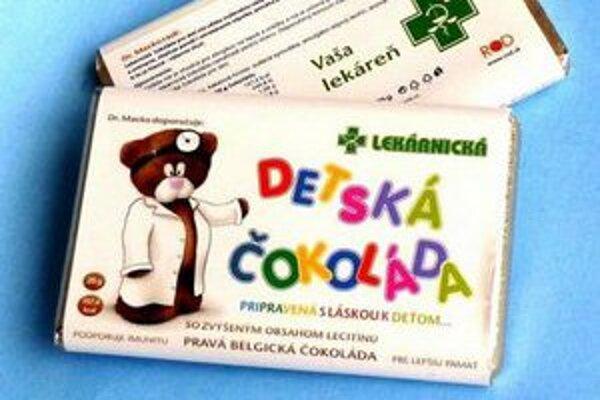 Pravá belgická čokoláda z lekárne.