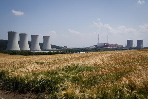 Jadrová elektráreň v Mochovciach.