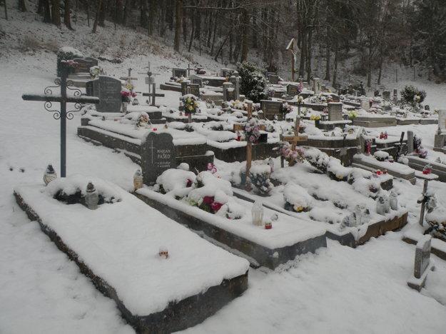 Na hrobe Štefana Vrticha (druhý zľava) je len meno jeho prasynovca.