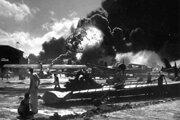 Útok na Pearl Harbor.