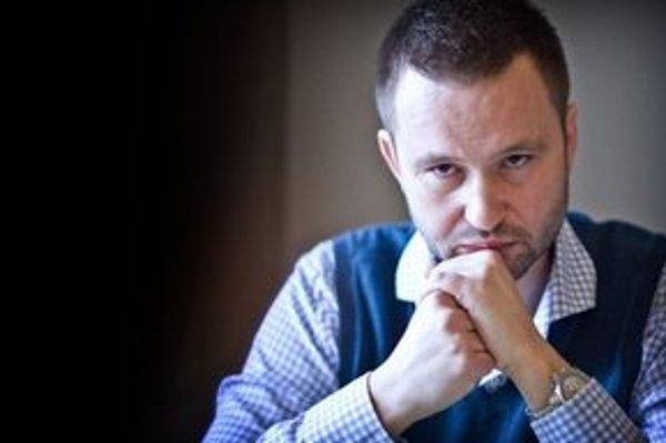 Jeden z kandidátov strany 99 percent Pavol Pavlík.