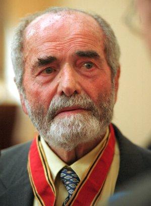 Český publicista a politik Pavel Tigrid