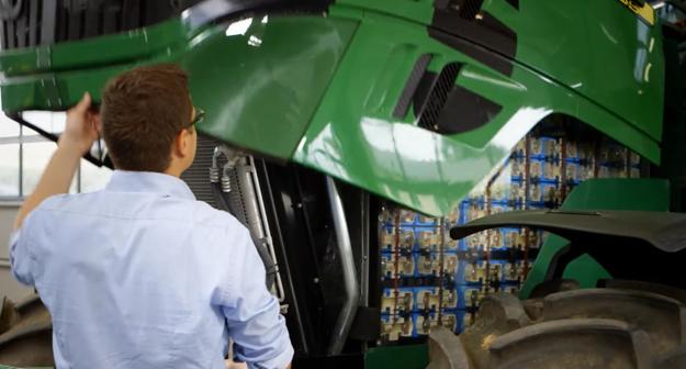 Batériové články traktoru John Deere SESAM