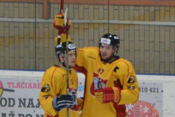 Tri body zostali v Topoľčanoch, dva góly v zápase strelil kapitán Hrudík.