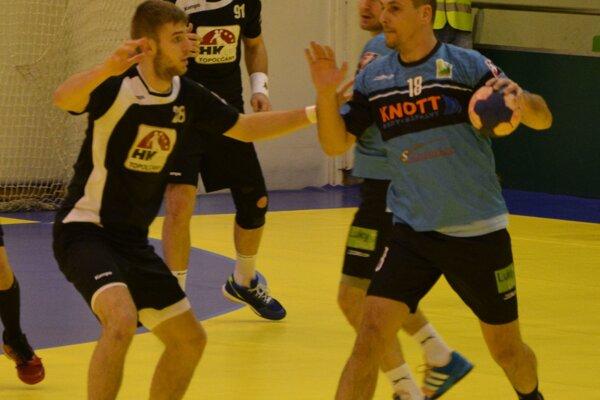 Topoľčany si doma poradili s Modrou, v stredu hrajú v Prešove, v piatok v N. Zámkoch.