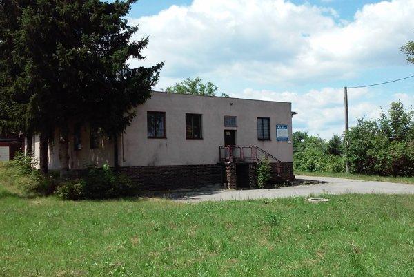 Budova starej škôlky.