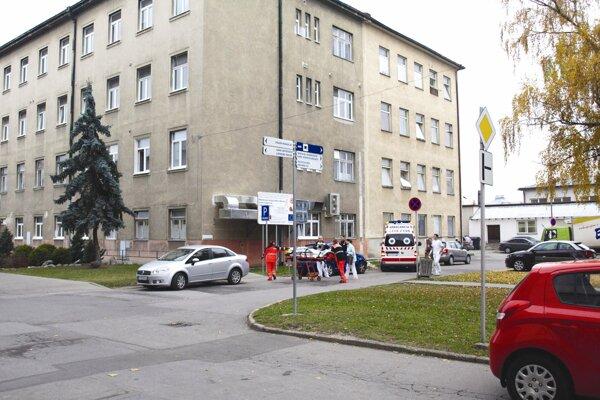 Areál Univerzitnej nemocnice v Martine.