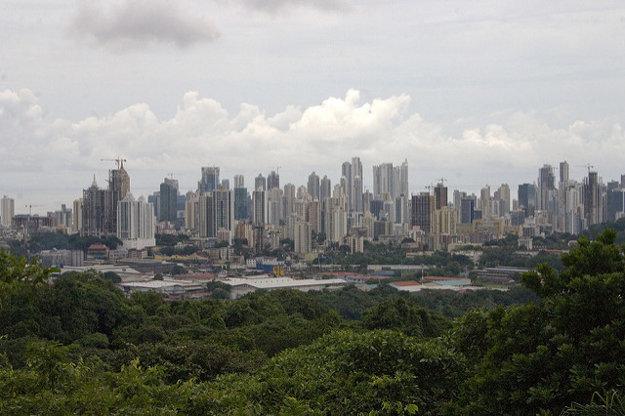 Pohľad na Panama City.