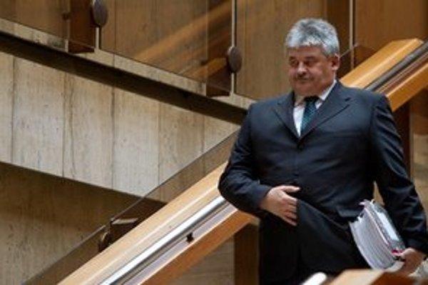 Minister práce sociálnych vecí a rodiny Ján Richter.