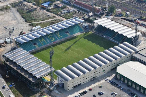 Futbalový štadión MŠK Žilina.