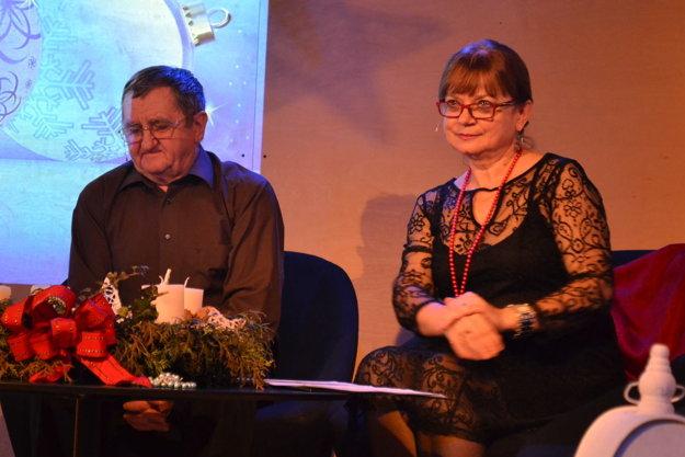 Prednášajúci a moderátorka. Igor Latta aJana Truščinská-Sivá.