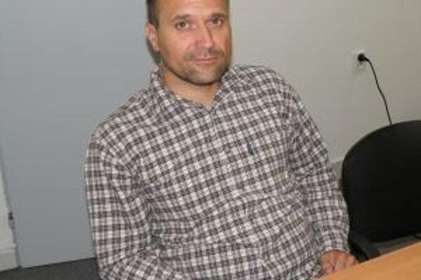 Tréner a predseda FSC Prievidza Dalibor Franko.