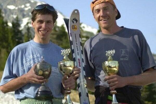 Filmár Rasťo Hatiar alegendárna skialpinistická dvojica Madaj – Trizna včase, keď podávali najlepšie výkony.