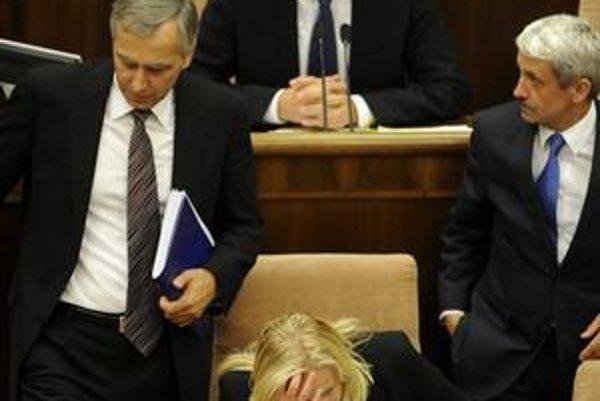 Hlasovanie o eurovale a pád vlády.