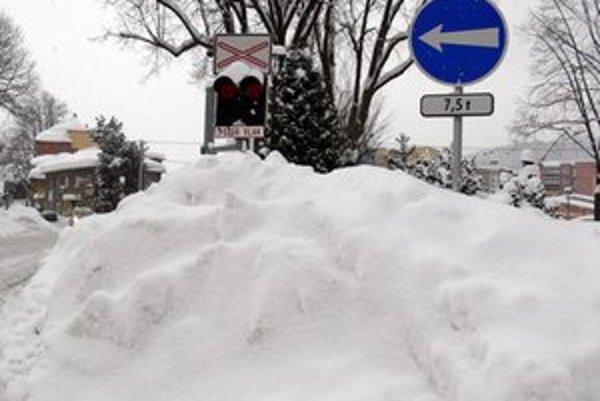 V Turzovke napadalo za posledných 24 hodín takmer meter snehu.
