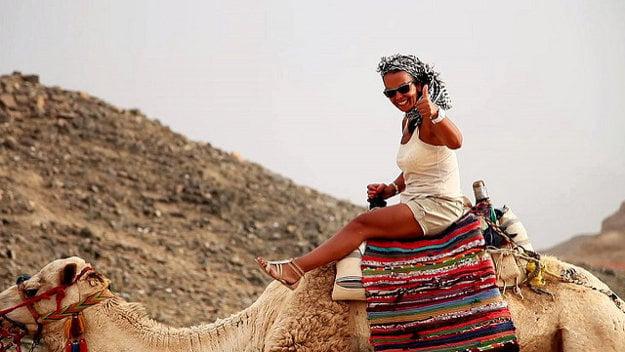 Safari do púšte je tradičnou zábavou v Hurghade.
