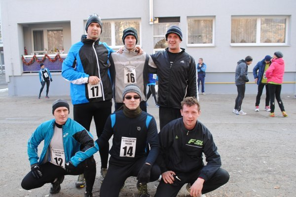 Silvestrovský beh v Prešove každoročne víta desiatky bežcov.