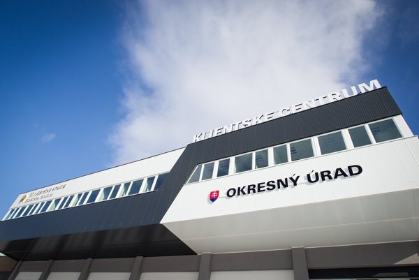 Klientske centrum v Bratislave.