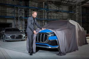 Šéfdizajnér Audi Marc Lichte odhaľuje časť konceptu Audi Q8