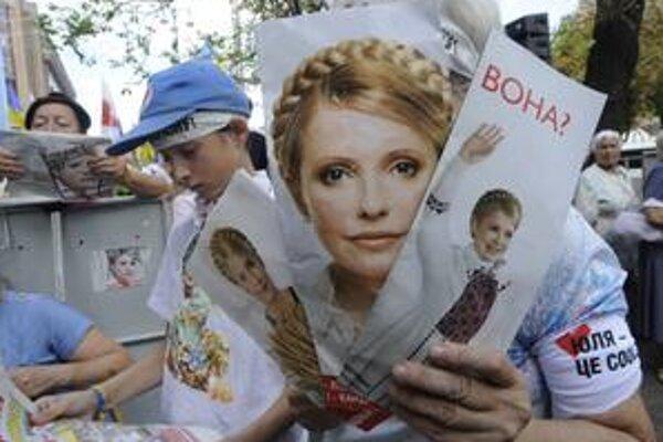 Tymošenkovej sa zastala aj ulica.