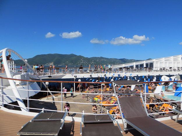 Už v prvý deň na lodi môžete objavovať miesta s najlepším výhľadom.