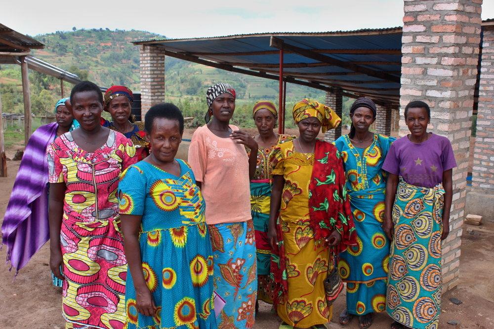 Ženy z družstva Nyampinga.