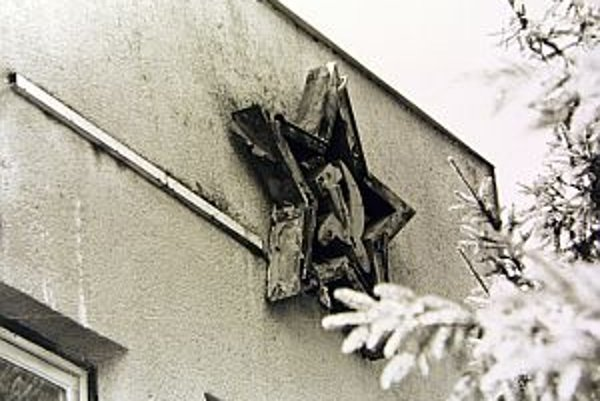 Zvolenské kasárne v roku 1992 po odchode sovietskych vojakov.