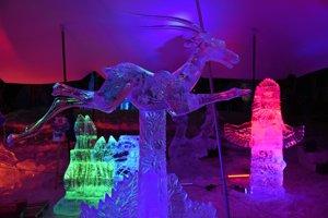 Ľadové sochy. Opäť vyrastú na Hrebienku.