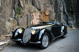 Alfa Romeo 8C 2900B Lungo Spider z roku 1939.