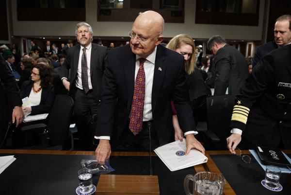Šéf amerických spravodajských služieb James Clapper.