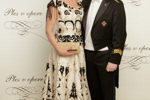 Danica Kleinová s partnerom