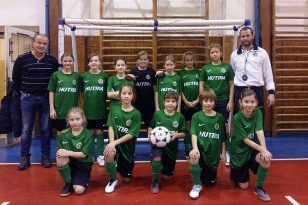 Na turnaji sa predstavili i dievčatá.