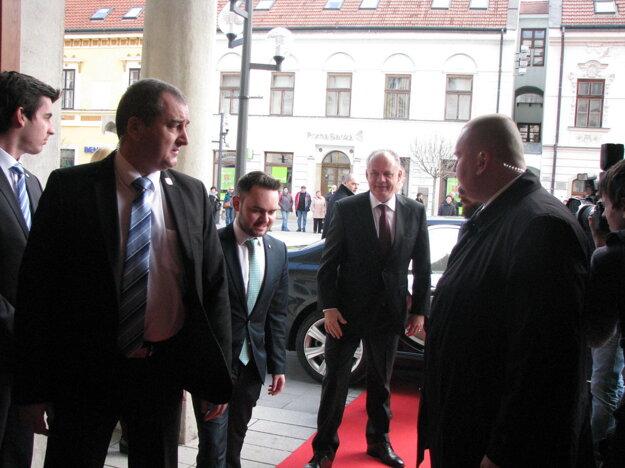 Prezident Andrej Kiska v Trnave.