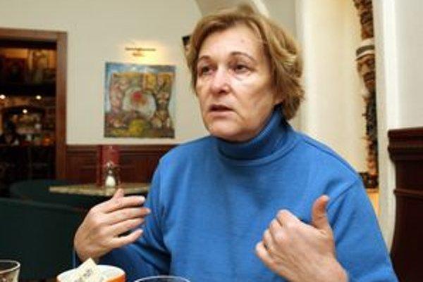 Bývalá sudkyňa Jana Dubovcová.