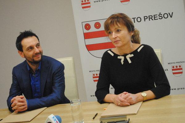 Miro Tásler a Andrea Turčanová.