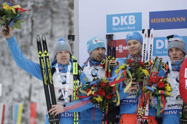 Druhí skončili s odstupom iba 5,1 sekundy Rusi.