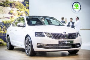 Autosalón Viedeň - Škoda Octavia