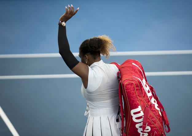 Uplynulý týždeň vypadla Serena v Aucklande už v druhom kole.