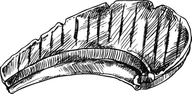 Karbanádle z prvčaťa sa posekajú a očistia z kostí, ale rebierka sa nechajú pri mäse. (Ján Babilon)