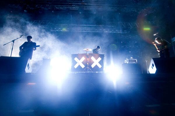 Kapela The XX na koncerte v roku 2010 na festivale Pohoda.