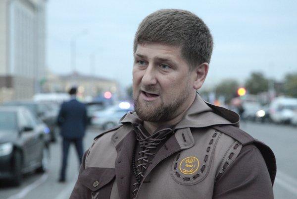 Prezident Razman Kadyrov.