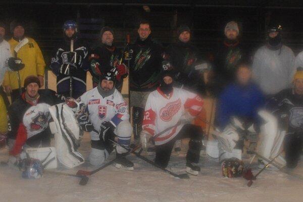Amatérski hokejisti.