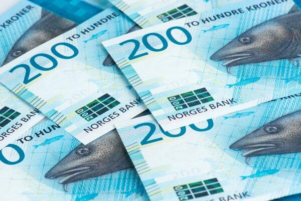 Nové nórske bankovky.