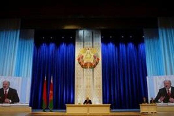 Lukašenko sa prihovára po voľbách.