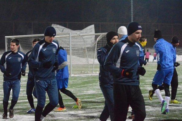 Futbalisti Fomatu sa na jarnú časť sezóny pripravujú od minulého utorka.
